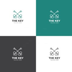Key Creative Logo Design Template