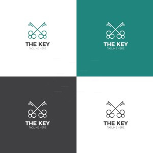 Key Creative Logo Design Template