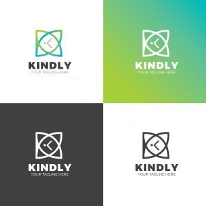 Kindly Creative Company Logo Design Template