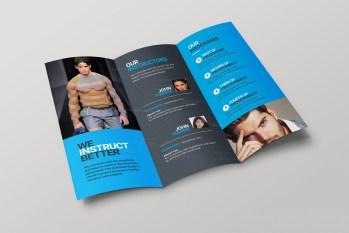Lexington Corporate Creative Tri-fold Brochure