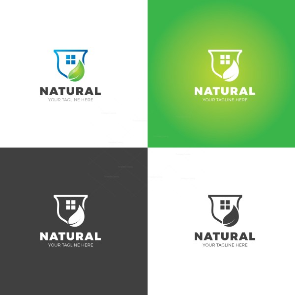 Natural Professional Logo Design Template
