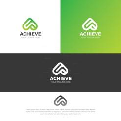 Archive Stylish Logo Design Template