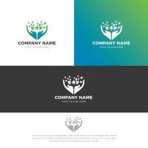 Charity Stylish Logo Design Template