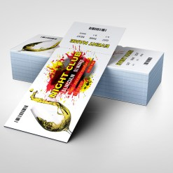 Clean Party Event Ticket Design Template