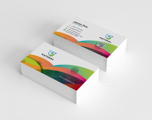 Colorful Creative Business Card Design