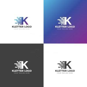 K Creative Logo Design Template