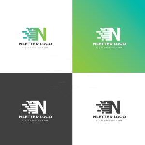 N Creative Logo Design Template