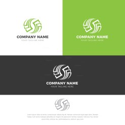 Recycling Logo Design Template