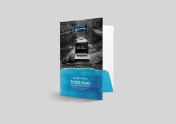 Serenity Presentation Folder Design Template