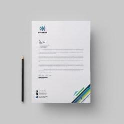 Smart Corporate Letterhead Design Template