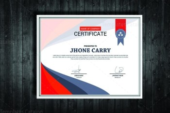 Stylish Certificate Design Template