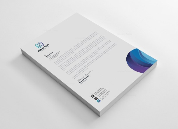 Top Corporate Identity Pack Design Template