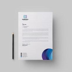 Top Corporate Letterhead Design Template