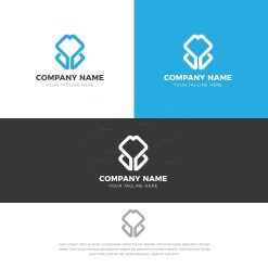 Tulip Creative Logo Design Template