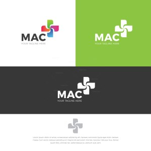 Turbine Stylish Logo Design Template