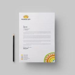Wifi Corporate Letterhead Design Template