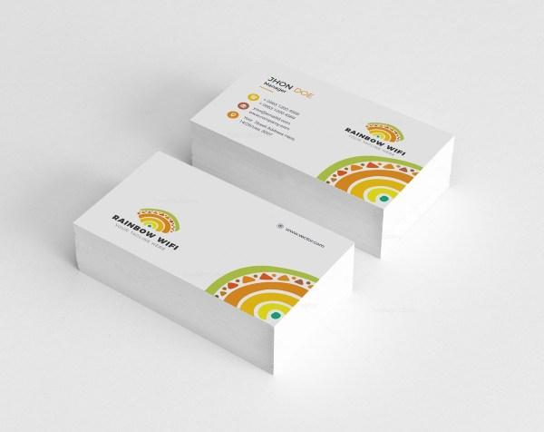 Wifi Creative Business Card Design