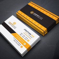 Administrator Business Card Design
