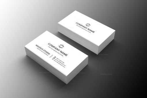 Doctor Minimal Business Card Design