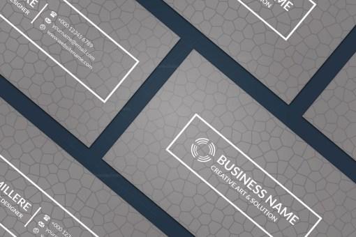 Engineer Minimal Business Card Design