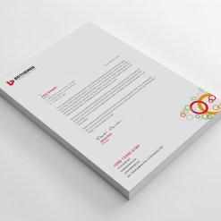 Luxury Letterhead Design Template