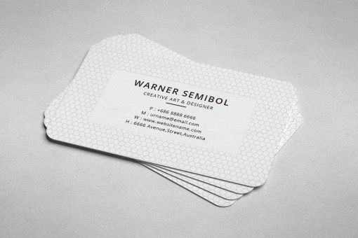 Minimal Consultant Business Card Design