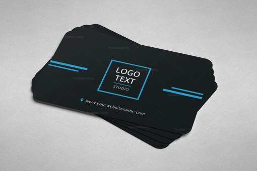 Minimal Programmer Business Card Design