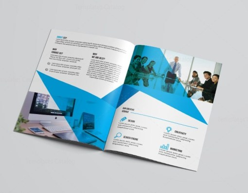 Art Bi-Fold Brochure Template