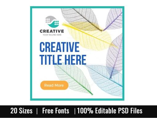 Clean Company Web Banner Set
