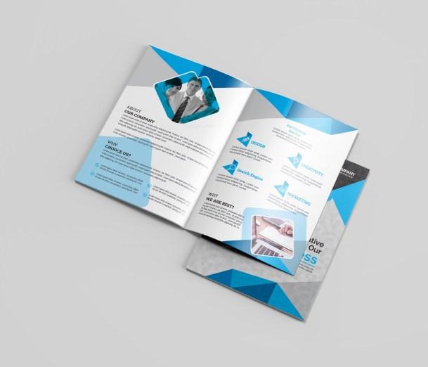 Dentist Bi-Fold Brochure Template