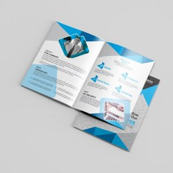 Dentist Bi-Fold Brochure Template