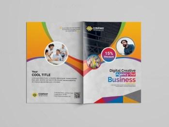 Education Bi-Fold Brochure Template