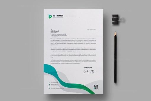 Insurance Letterhead Design Template