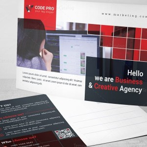 Marketing Postcard Design Template
