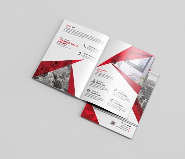 Photography Bi-Fold Brochure Template