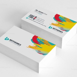 Retail Business Card Template