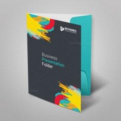 Retail Presentation Folder Template