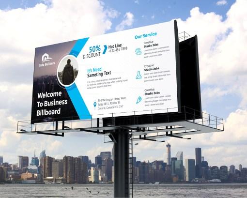 Billboard Banner Design