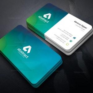 Diamond Shapes Business Card Design