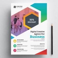 Education Business Flyer Design