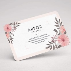 Flower Business Card Design