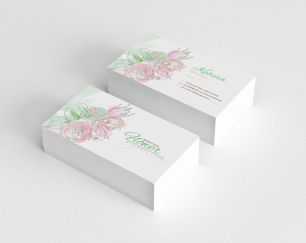 Herb Business Card Design