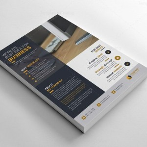 Fully Layered Business Flyer Design