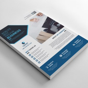 Modern Printable Corporate Flyers