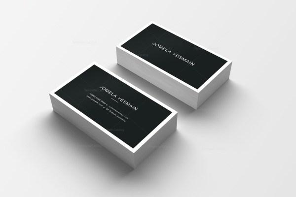 Pink Business Card Design
