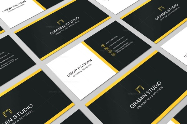 Professional Business Card