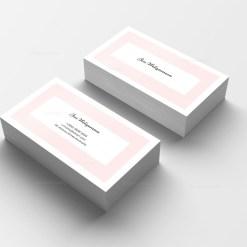 Stylish Print Business Card