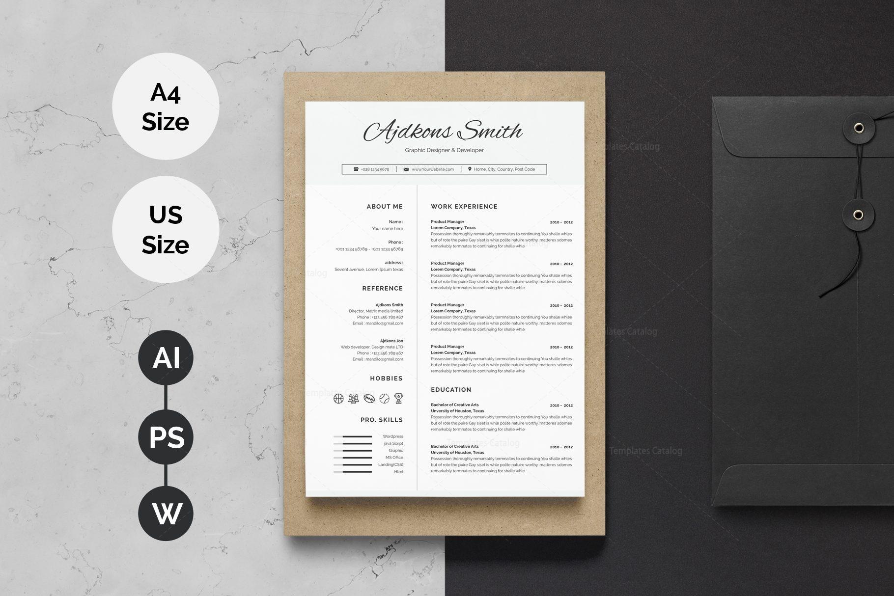 Stylish Resume Design