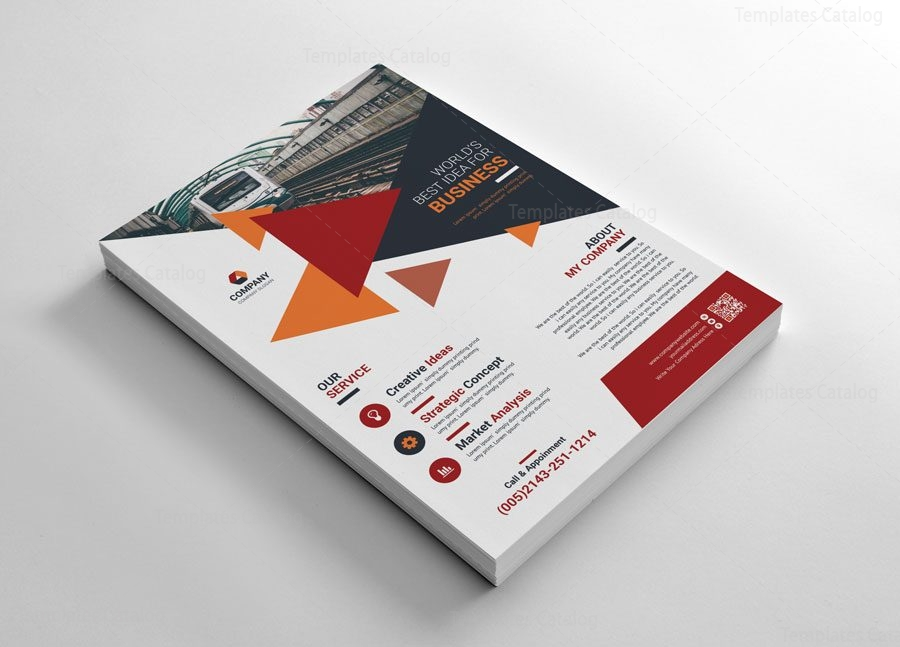 Business Creative Flyers Templates 002666 Template Catalog