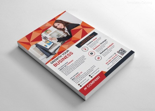 002606-flyers-design-template-with-diamond-shapes